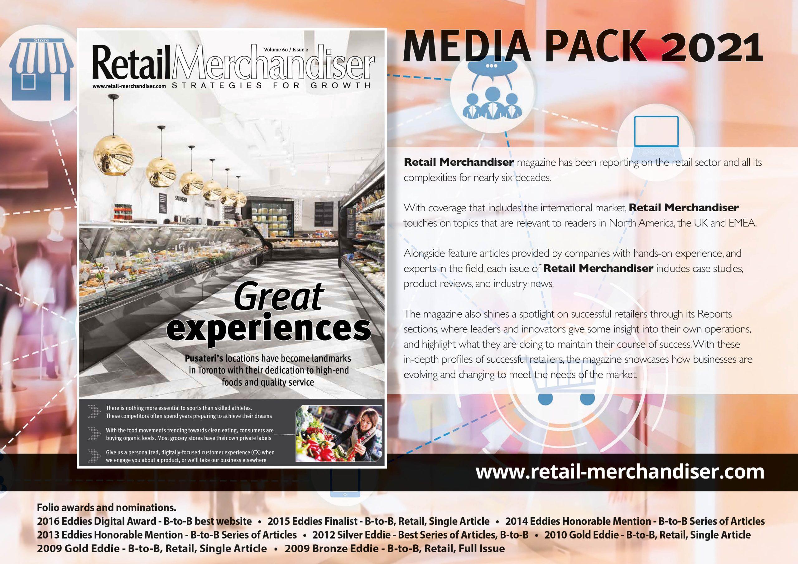 Retail Merchandiser Media Kit Cover
