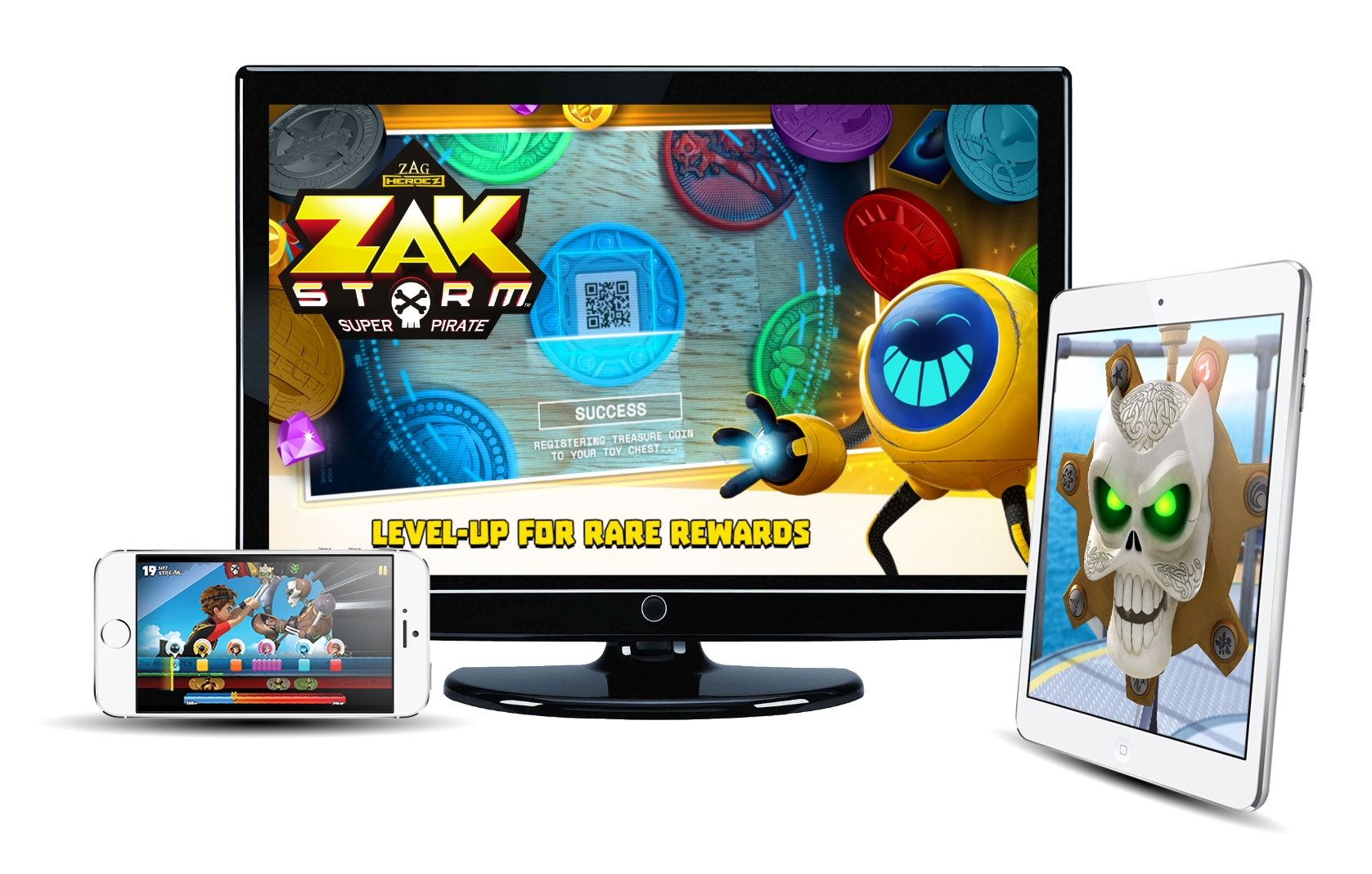 Zak Storm Trifecta Launch Image